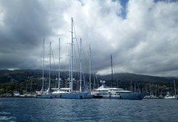 The big boys at Marina Taina, Papeete